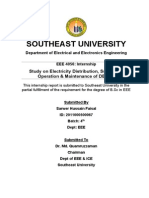 Study on Electricity Distribution, Substation Operation & Maintenance of DESCO