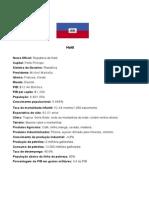 Rio +20 Haiti