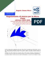 Regole Vele - Microclass