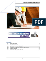 Control de Obras Con Ms Project