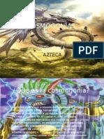 Cosmogonía Azteca