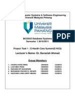 Example Proposal Project Database