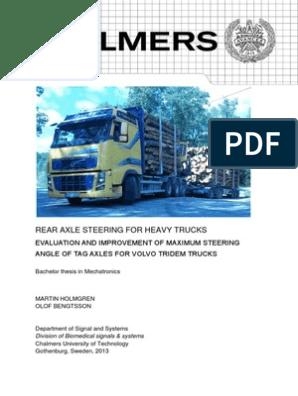 TRUCK - Volvos steer system | Steering | Axle