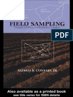 Field Sampling Principles and Practices in Environmental Analysis