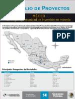 Portafolio_proyectos Mineros 2011