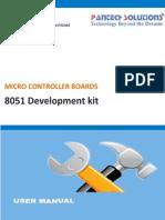 User Manual for 8051 Development Kit