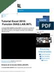 Tutorial Excel 2010_ Función DIAS.lab.INTL