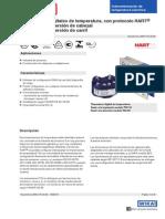 Trasmisor Digital de Temperatura Con Protocolo Hart