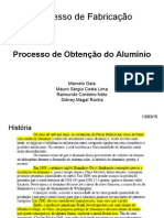 Apresentação Revisada 1º Aval. Obteção do Aluminio 4º Ano.ppt