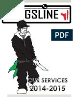Gangsline Schools Brochure 2014-2105
