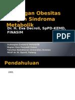 Kuliah Hubungan Obesitas Dengan Sindroma Metabolik