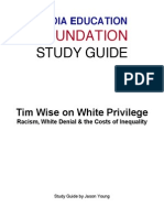 Tim Wise on Whte Privilege