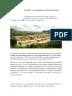 A Importância Dos Portos Secos Na Logística Aduaneira Do Brasil