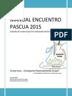Manual Encuentro Pascua 2015