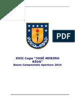 Bases Copa Pete - Apertura 2015