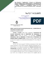 COLECTIVO de Accion - Comision Provincial Por La Memoria - Habeas Data Colectivo - Irregularidades de La Morgue Policial de La Plata