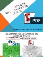 Delimitacion de Microcuencas en Civil 3d