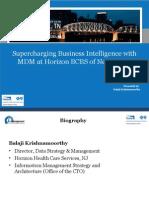 Master Data Management Business Benefits