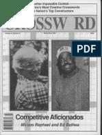 """""""Competitive Aficionados"""