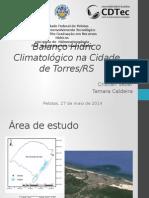 Balanco Hidrico Climatológico