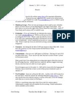 Jan 21 2010 General Minutes