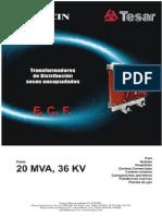 4.1 Transformador Seco Tesar - Elecin