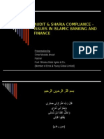 Shariah Audit Issues of Islamic Banking