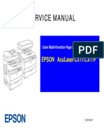 Service Manual Epson Aculasercx411nf