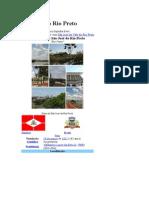Historia de Sao Jose Do Rio Preto