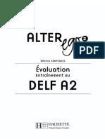 Evaluation DELF A2