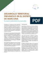 Desarrollo Territorial Preventivo en el Distrito de Marcona