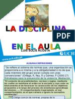 Disciplina en La Escuela (Charla)