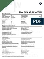 Fichas técnicas All New BMW X6 xDrive50i M Sport Package.pdf