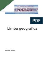 Limba Geografa