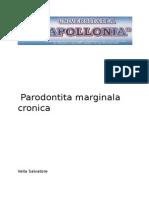 Parodontita Marginala Cronica