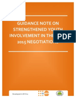 Post 2015 Guidance Note for Youth