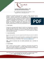 Edital Processo Seletivo 2015.1
