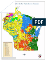 Wisconsin Electric Map