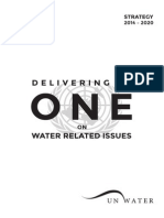 UN Water Strategy 2014 2020