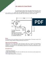 Static Analysis of a Corner Bracket