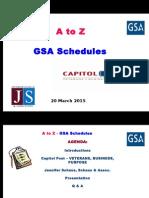 GSA Schedule Risks / Rewards CAPITOL POST