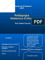 Pedagogia Historico Critica SLIDES