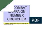 Milos Air Combat Number Cruncher