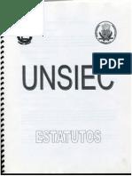 Estatutos UNSIEC