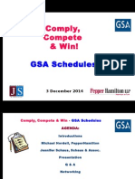 Comply, Compete, Win - Govt Contracting - GSA SCHEDULES