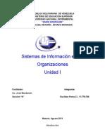 El Rol de Los Sistemas de Informacion en Las Organizaciones