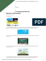 15 Herramientas Tic Para Encontrar Recursos Educativos. ¡Recomendado! _ Ideas Para La Clase
