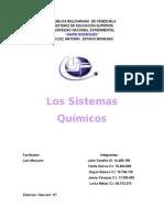 Los Sistemas Químicos