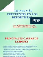 Lesiones Mas Frecuentes en Los Deportistas