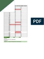 Plantilla Excel Examen Rita PMP 5